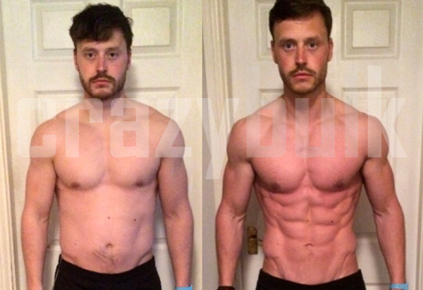 Testo Max before and after results