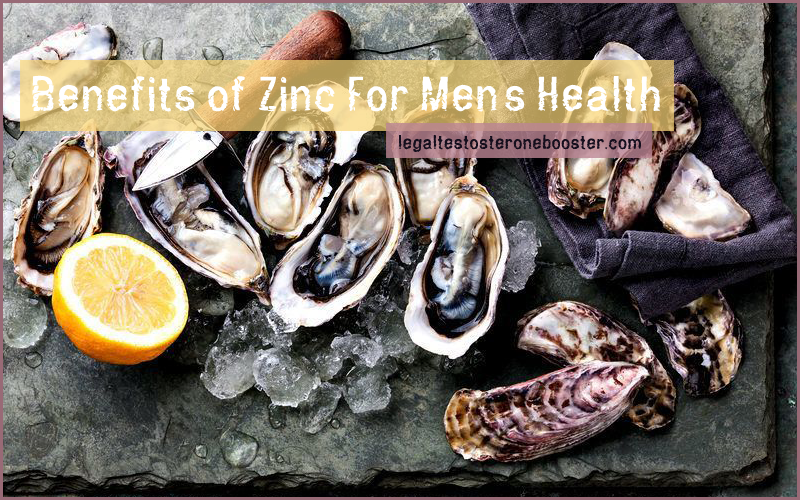 Zinc health benefits for men