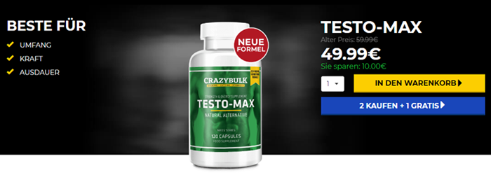 Buy TestoMax in Germany